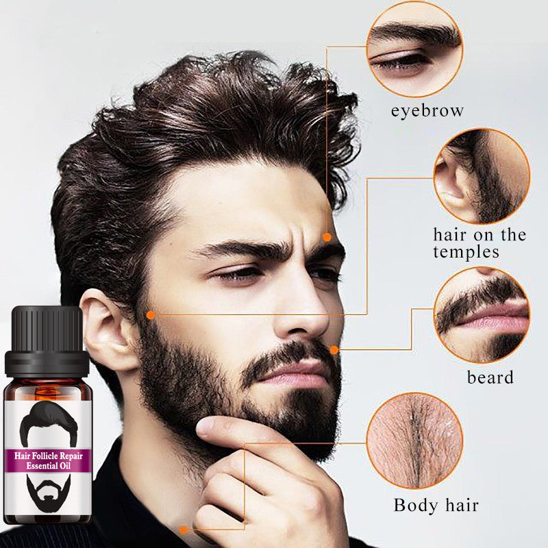 Beard hair repair essential oil