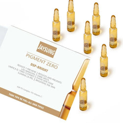 New Hyaluronic Acid 7pcs Facial Maintenance Moisturizing Hyaluronic Acid Facial Serum (Gold)