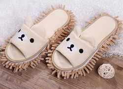 Lazy Bear Duster Slippers