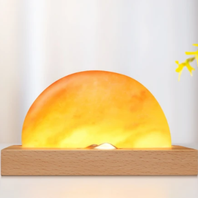 Sunrise Phone Dock Himalayan Salt Lamp