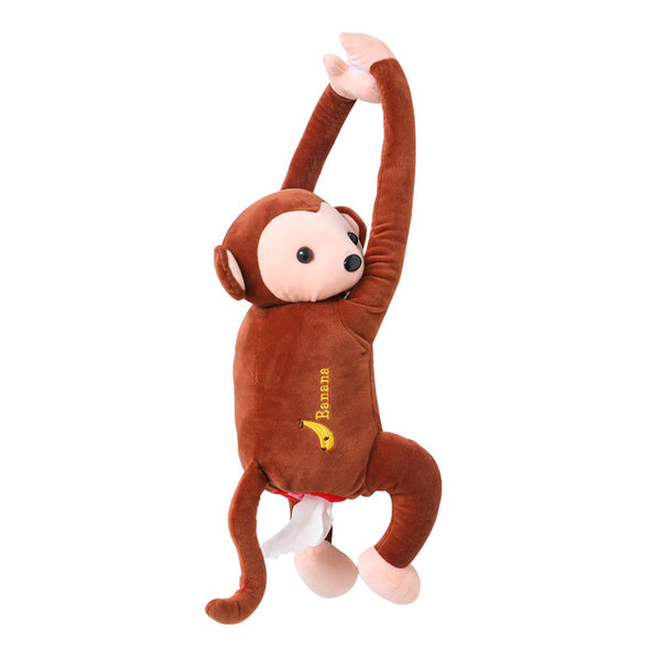 Pipi monkey hanging tissue box