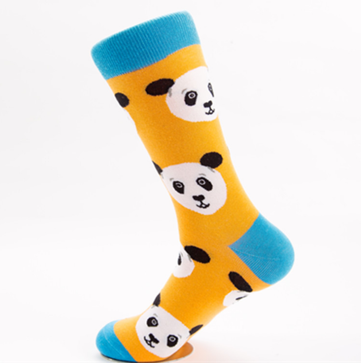 Vibrant Animal Print Socks