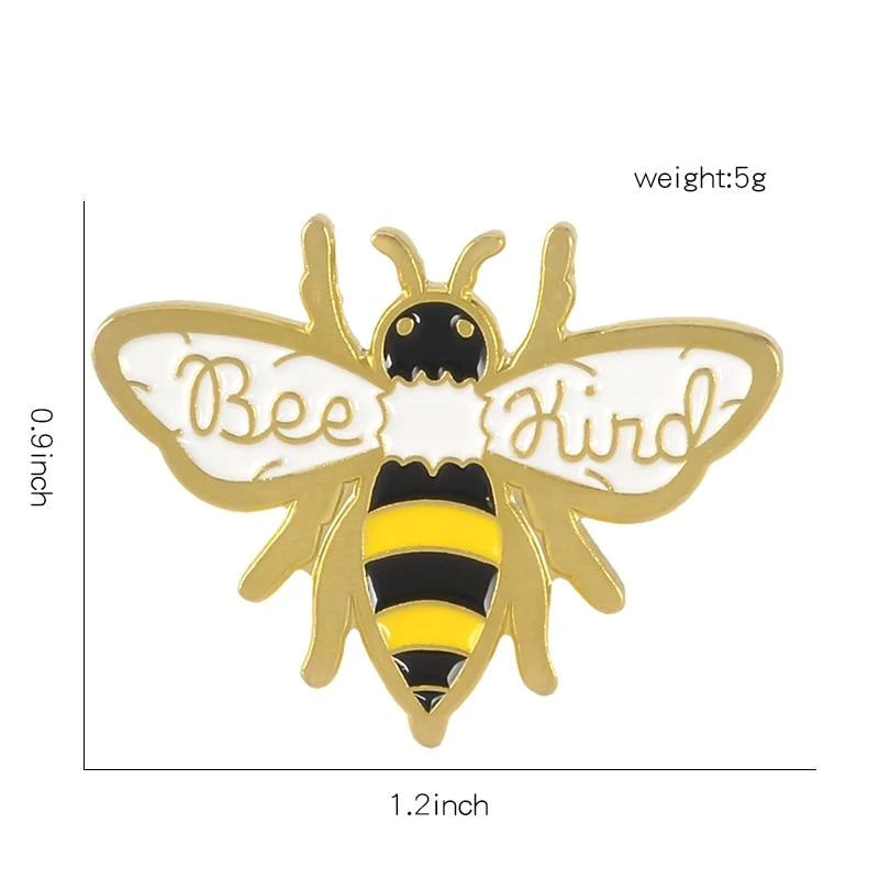 Bee Kind Honey Bee Brooch