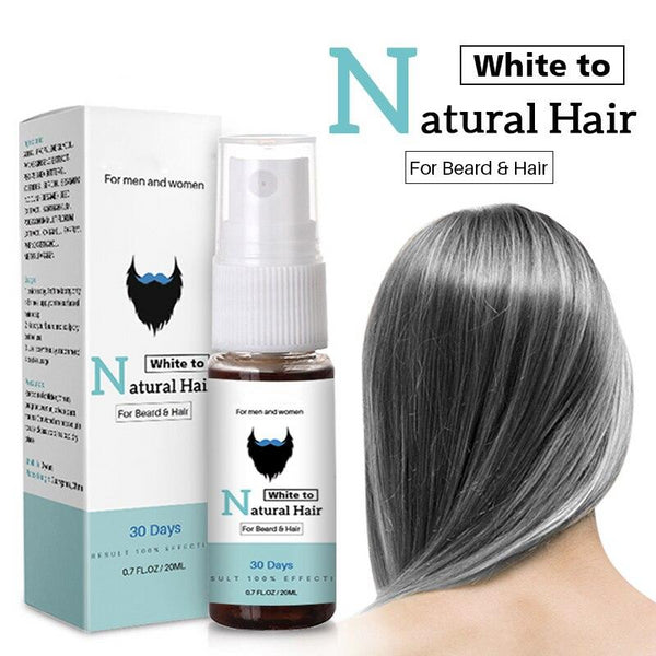 Pansly Herb Gray White Hair Spray Liquid Treament Oil Change To Natural Black Nutrition In 30 Days No Side Effect Dropshipping