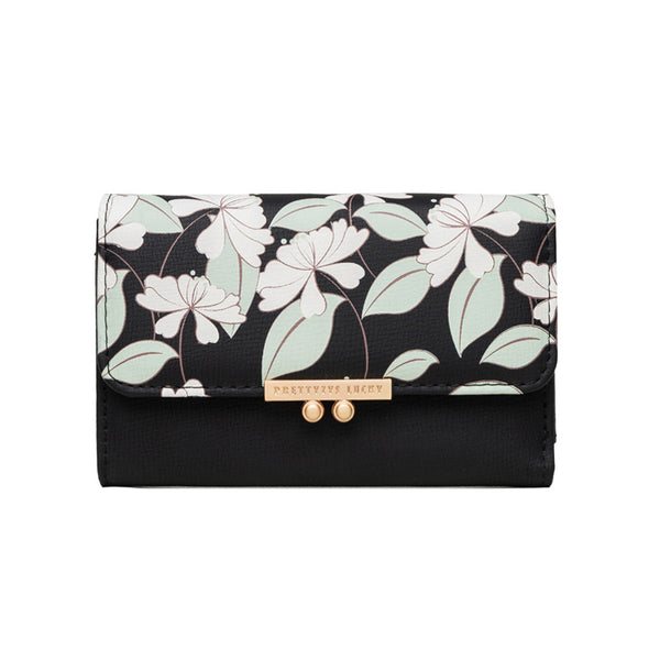Ladies Long Floral Fashion Wallet