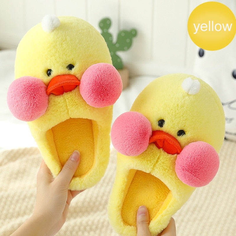Duck Face Slippers