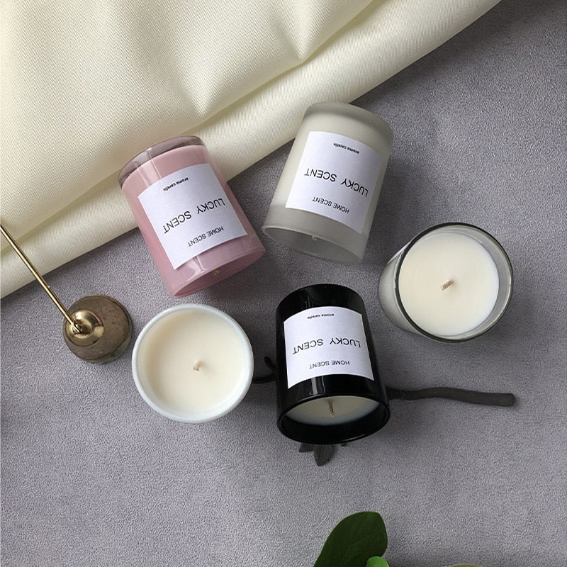 Nordic Scented Candles Home Decoration Candle Atmosphere Regulation Accessories Room Decoration Depressurize Aromatherapy Gifts
