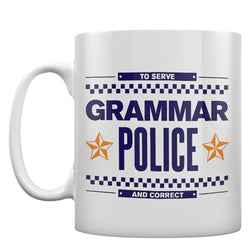 Grammar Police Mug 11oz Ceramic Coffee Mug Gift Mug for Grammar