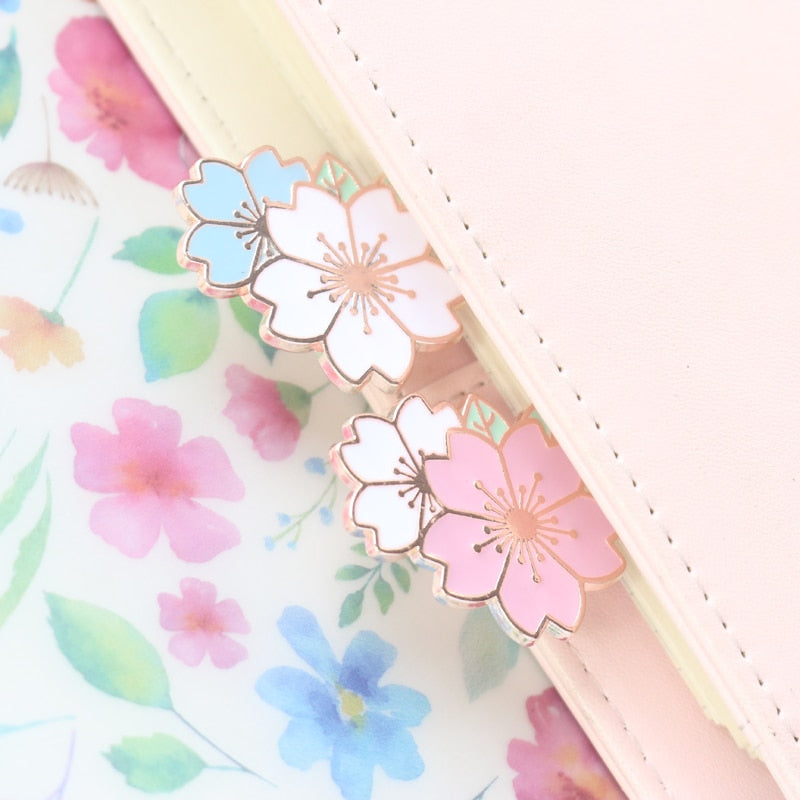 cute creative metal flower office school decorative paper clips kawaii student bookmark for books stationery supplies