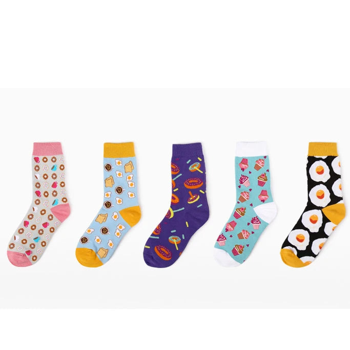 Socks In A Box Food Print Set