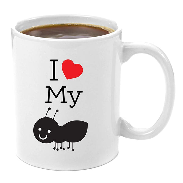 I Love My Aunt Premium 11oz Coffee Mug Gift Perfect Sister Gifts Moring Milk Cup Mugs