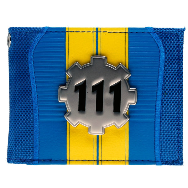 Fallout Purse Blue pu Bi-Fold Wallet  DFT-2018