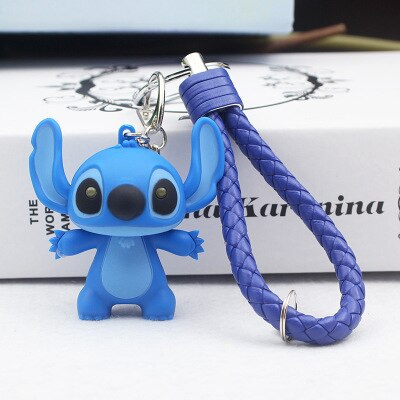 Stitch LED Flashlight Key Ring