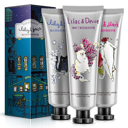 BIOAQUA Hand Cream Moisture Nourishing Anti Chapping Oil Control Cute Cat Girl Winter Hand Care Lotion Set