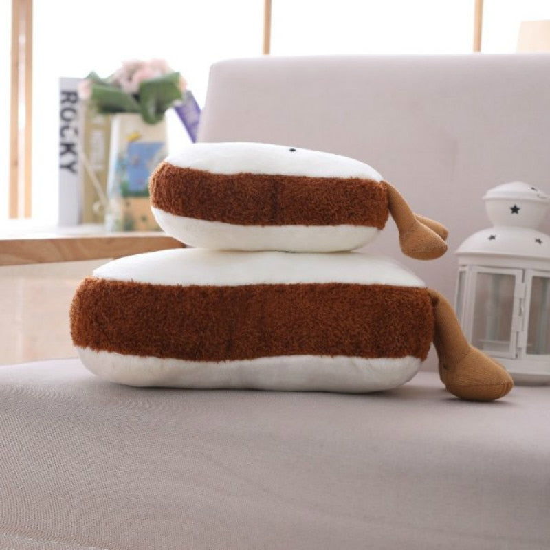 Kawaii Toasties Throw Cushions