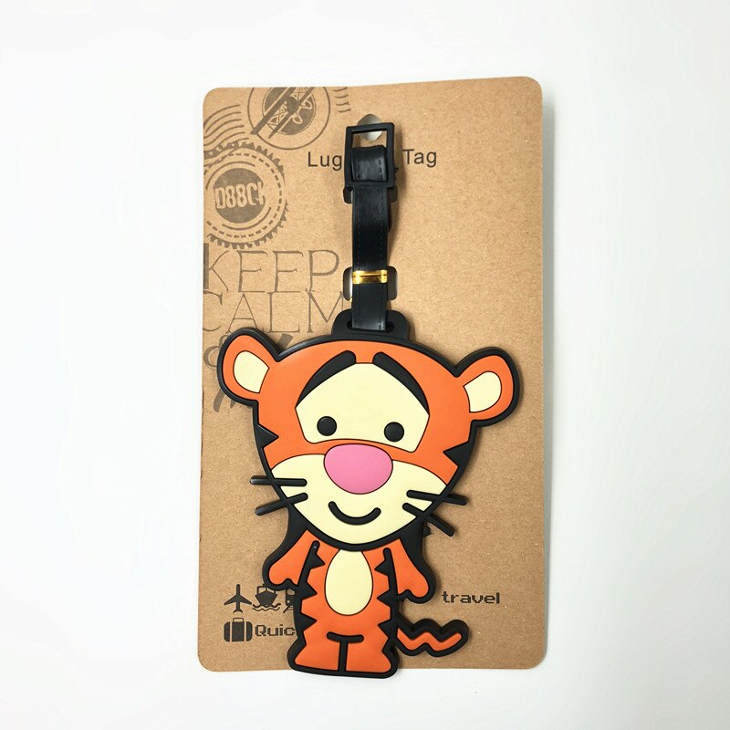 Cute Cartoon Luggage Travel Tags