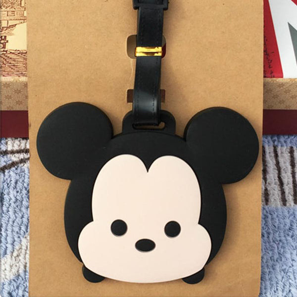 Mouse Luggage Travel Tags
