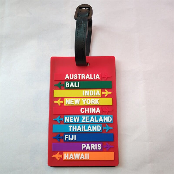 Destinations Luggage Travel ID Tags