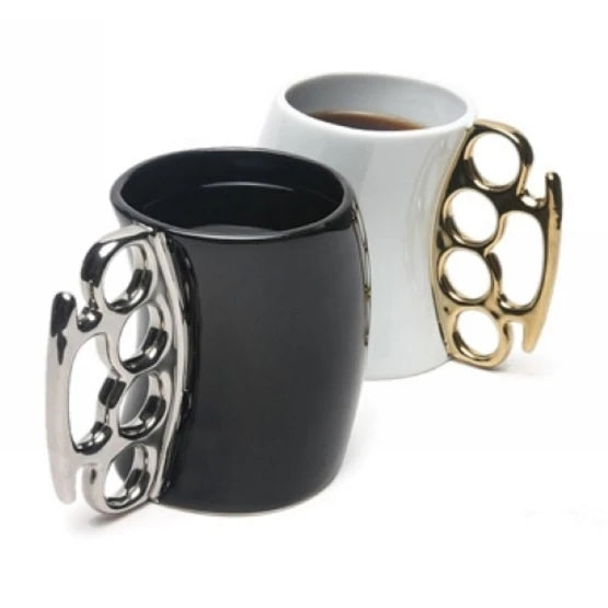 New Creative Fist Cup 4 Colors Knuckles Mug Ceramic Coffee Mug Personality Porcelain Cup Novelty Gifts 1pc