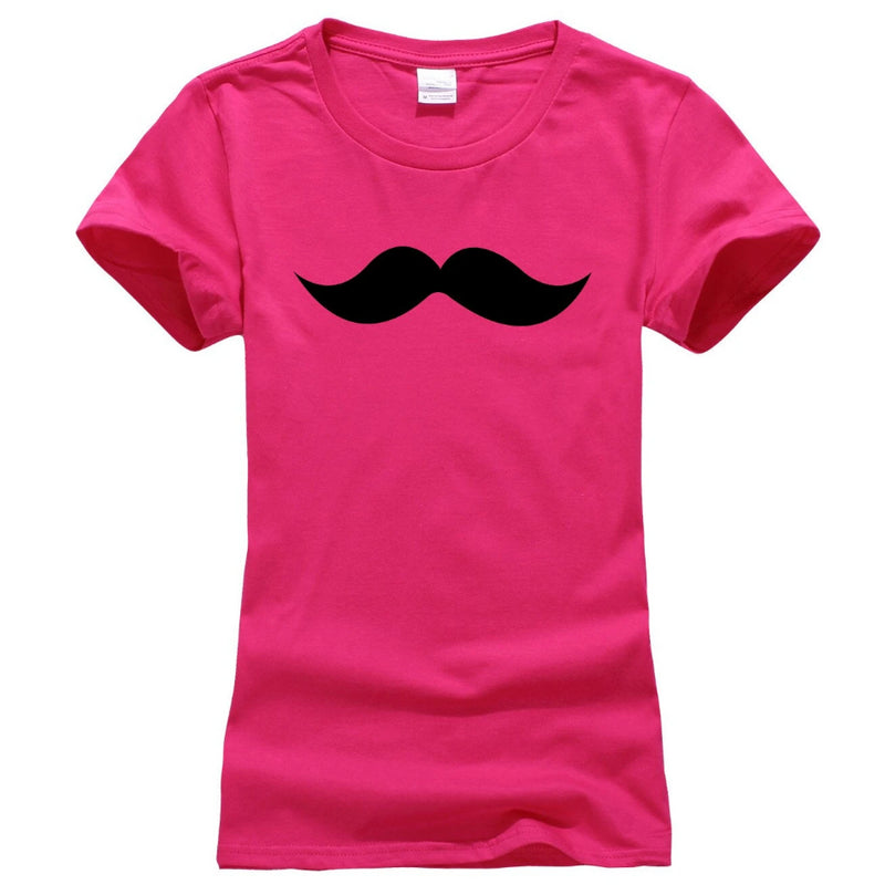 Moustache Women's Novelty T-Shirt