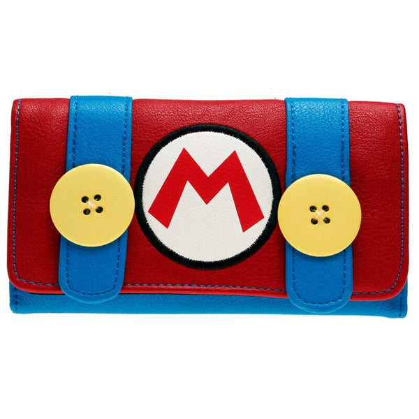 Super Mario Wallet- Faux Leather   DFT-1964