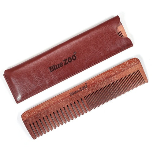 Gents Long Wooden Beard Combs