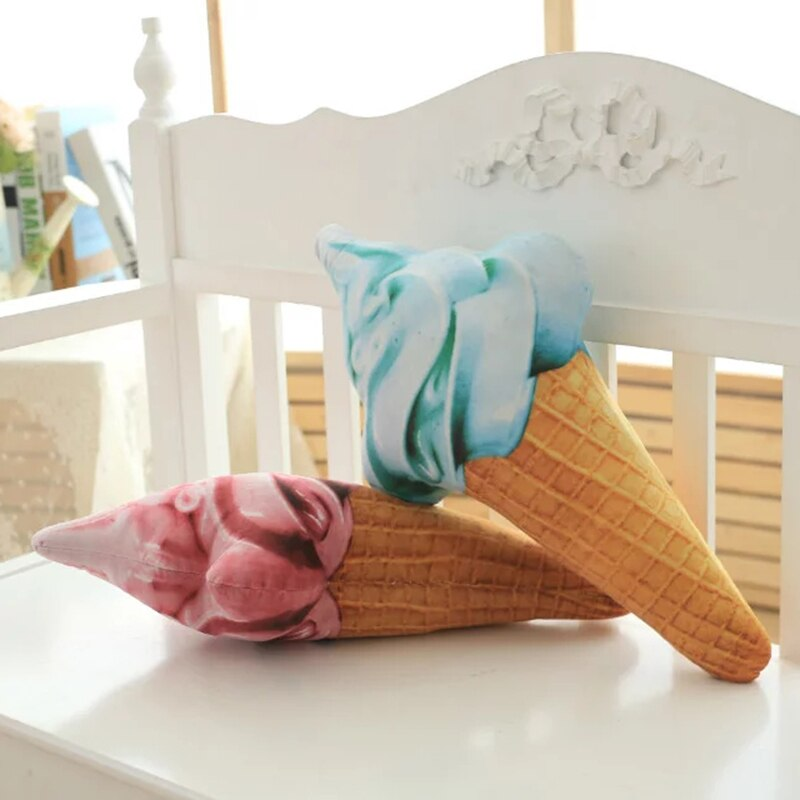 Creamy Ice Cream Cushions