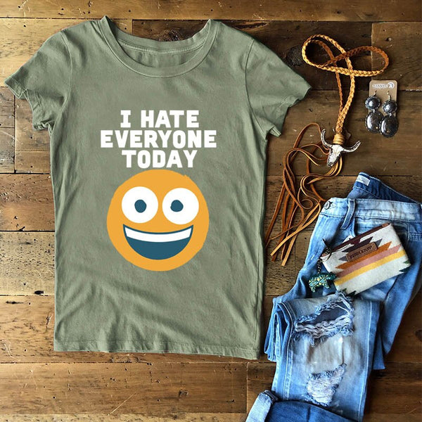 100% Cotton Letter Women Tee Shirt Funny Emoticon large size print t shirt harajuku basic Tops casual loose o-neck Tees S-5XL