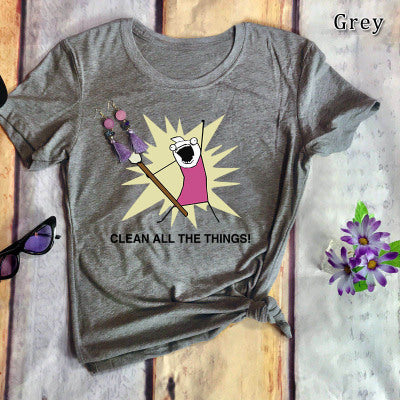 Clean All The Things Women's T-shirt