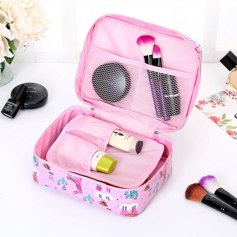 2019 New Style Fashion Women Portable Travel Cosmetic Makeup Storage Bag Girls Multi-style Toiletry Organizer Pouch