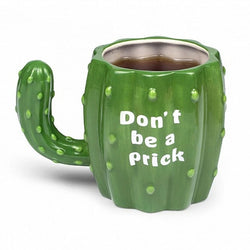 330ml Green Cactus Ceramic Mug with Handgrip Funny Coffee Milk Tea Breakfast Cups Novelty Gifts