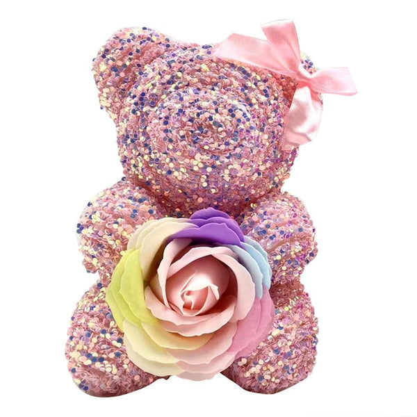 Gift Box Diamante Bear