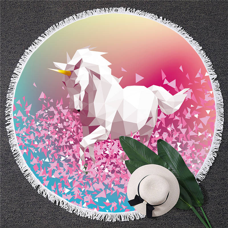 Magical Unicorn Beach Blankets