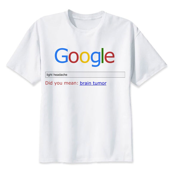 Google Light Headache Novelty T-Shirt
