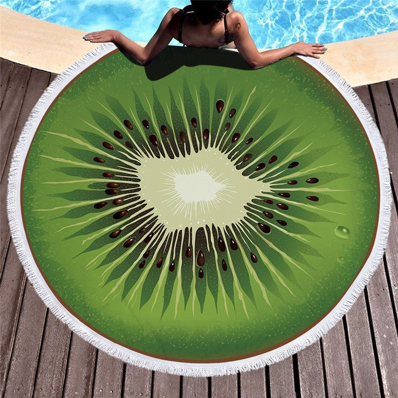 3D Printed Fruit Beach Towels