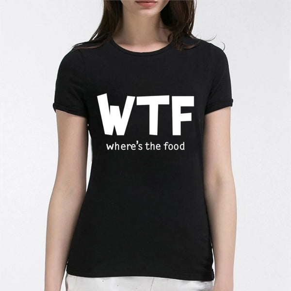 Where's The Food Women's Novelty T-Shirt
