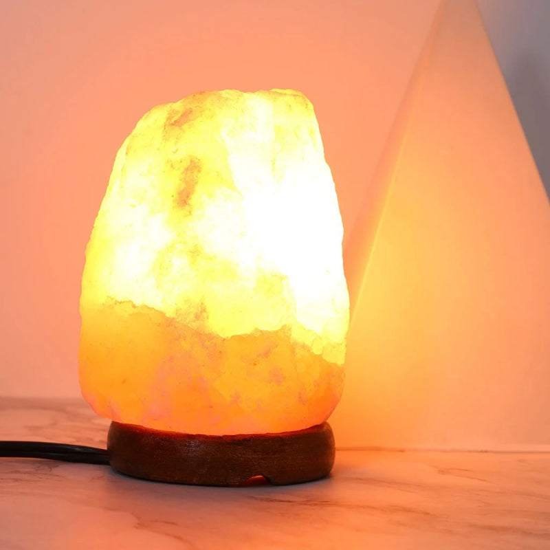 Himalayan Salt Rock Boulder Lamp