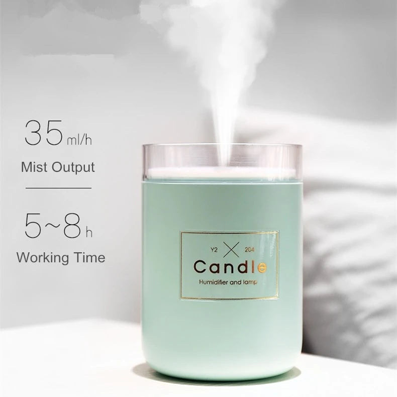 Candle Air Humidifier Diffuser