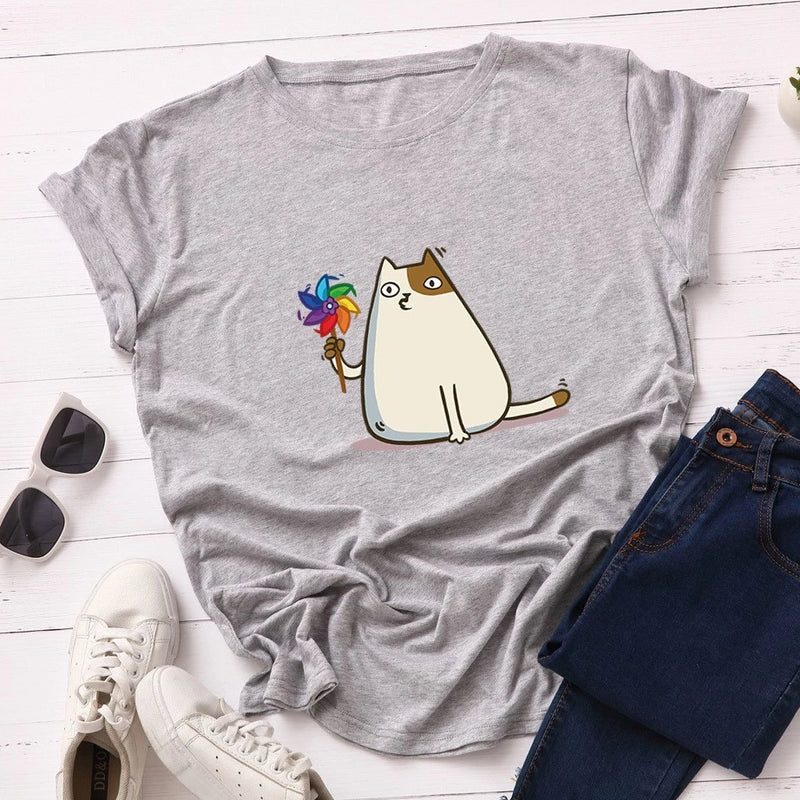 Bored Cat Women's T-Shirt