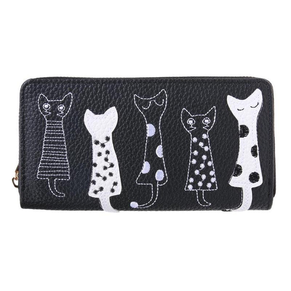 Cat Lady Clutch Wallet
