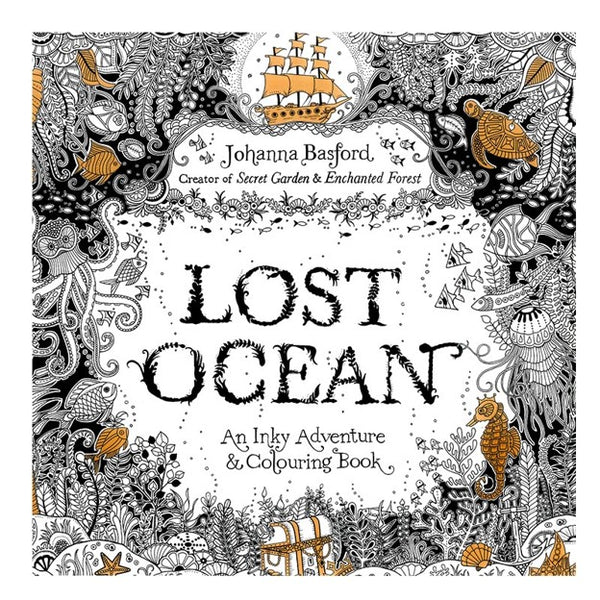Relaxing Lost Ocean Adult Colouring Book