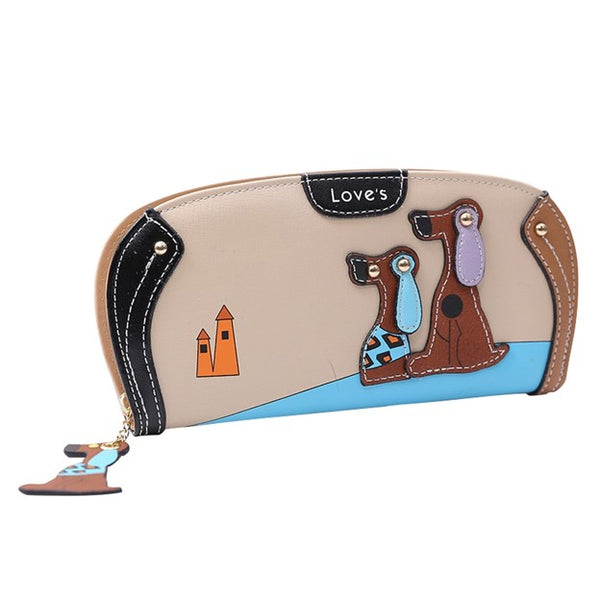 Ladies Dog Show Fashion Wallet