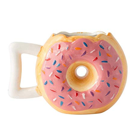 Hand Crafted Delicious Doughnut Mug