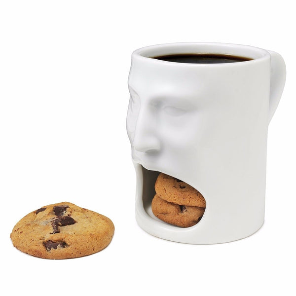 Biscuit Face  Double-Layer Mug