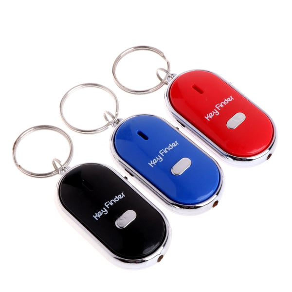 LED Whistle Finder Key Ring