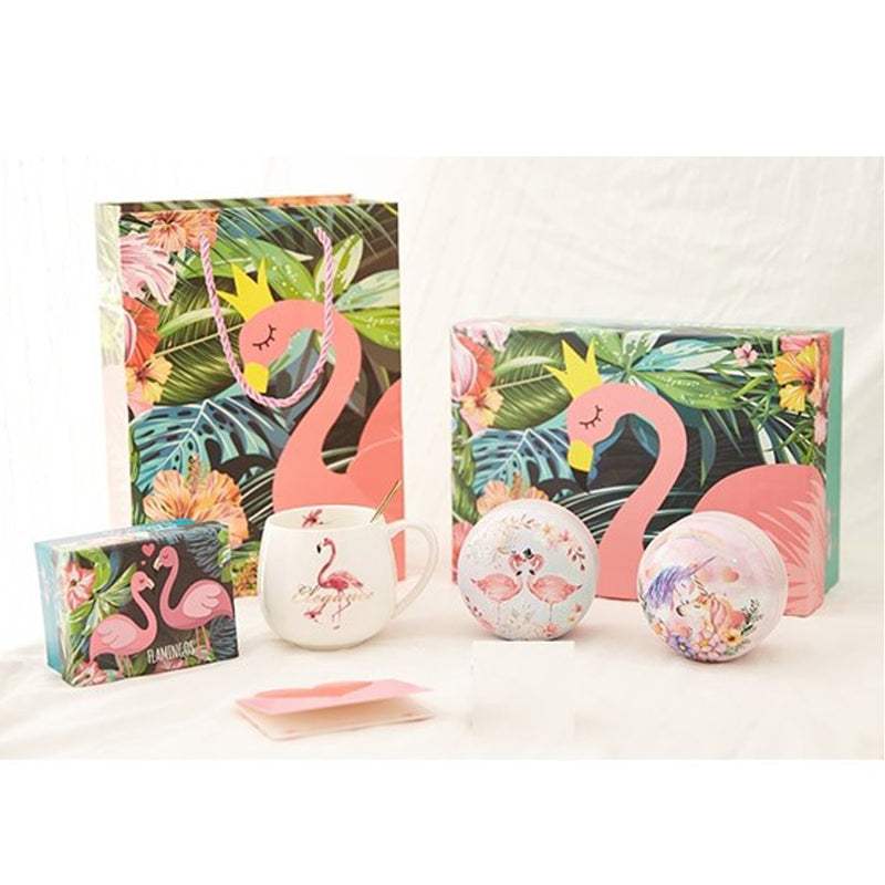 High Tea Flamingo Gift Box Set