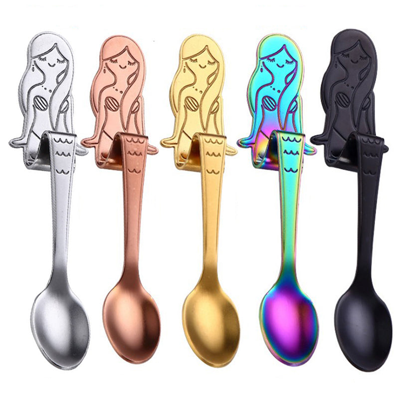 Mini Mermaid Sitting Spoon