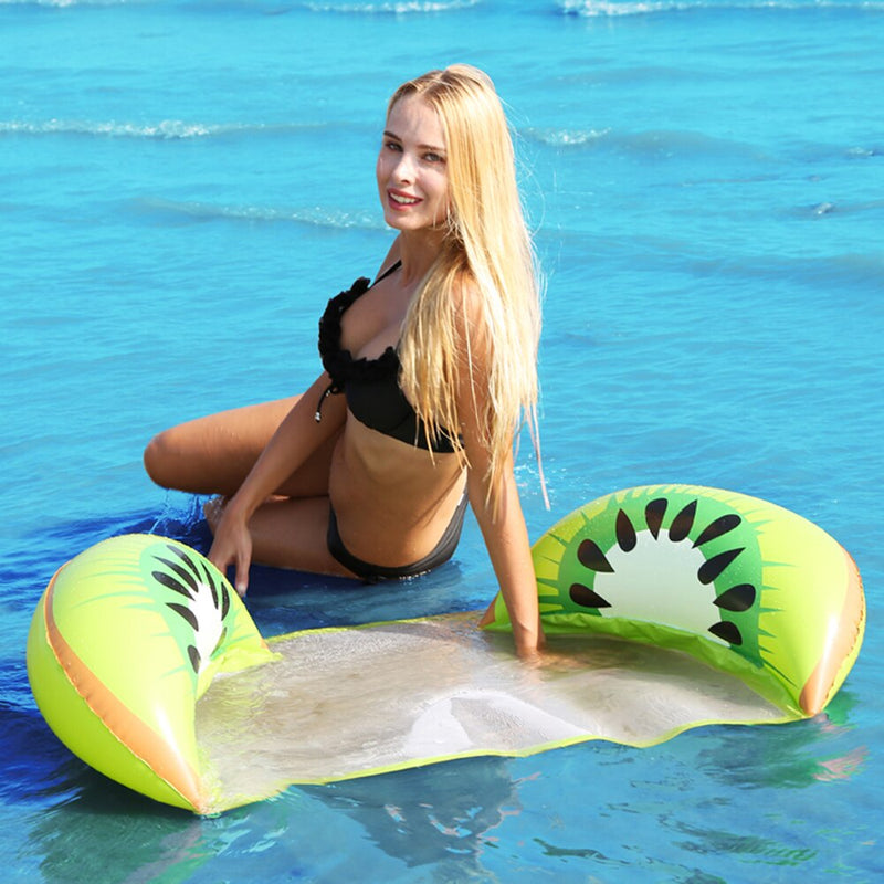 Inflatable Floating Fruit Mesh Bed