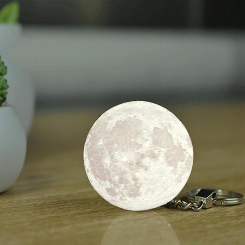 Moon Glow Key Ring
