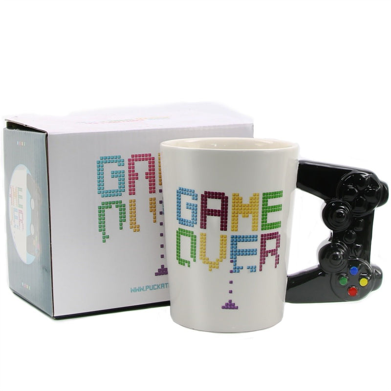Hand Painted Game Over Gamers Mug